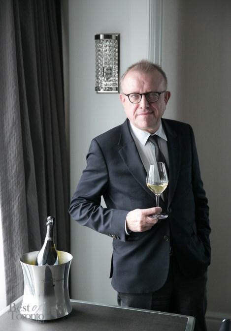 Dom Pérignon's Chef de Cave since 1990, Richard Geoffroy | Photo: Nick Lee