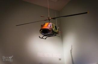Full Metal Jacket, Stanley Kubrick Exhibition   Photo: John Tan