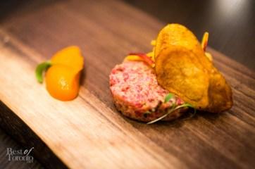 AAA Steak Tartare   Photo: John Tan