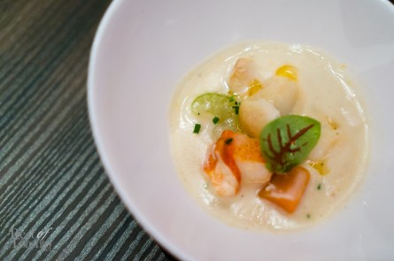Cream of Chicken & Lobster Chowder | Photo: John Tan