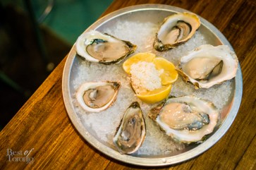 Fresh oysters   Photo: John Tan