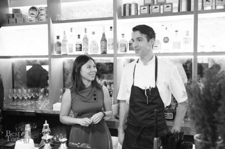 Evelyn Wu, Chef Wayne Morris