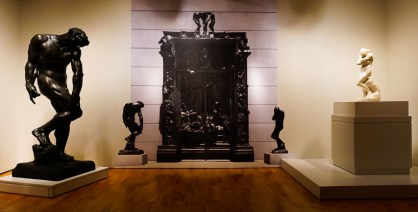 Michelangelo Exhibit: Works by Auguste Rodin
