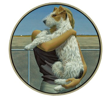 Alex Colville: Woman and Terrier (1963)