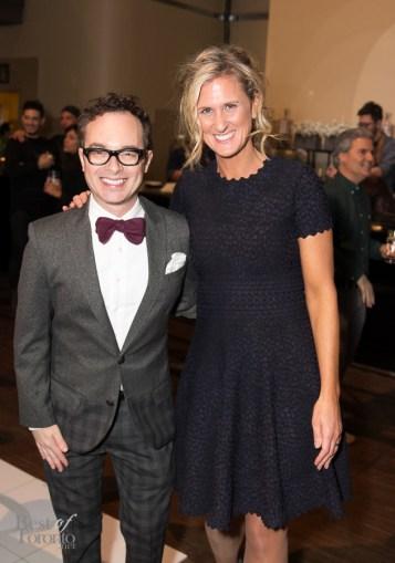 Tommy Smythe (celebrity interior designer), Shauna Levy (Design Exchange, President)