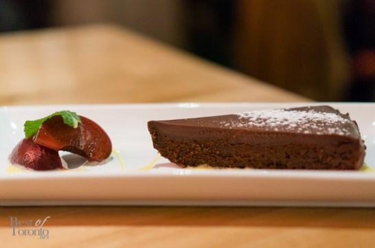 Chilli chocolate torte