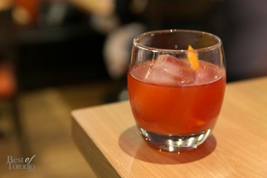 Blood orange negroni | Photo: Nick Lee
