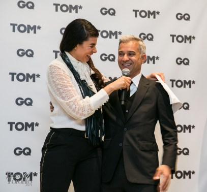 r: GQ Brasil Fashion Editor, Sylvian Justum
