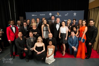A group shot of the Canadian Screen Awards presenters