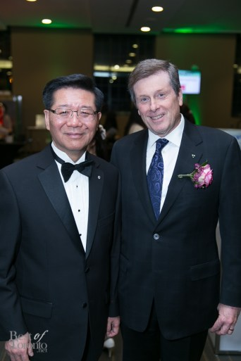 Dr. Joseph Wong, Mayor John Tory