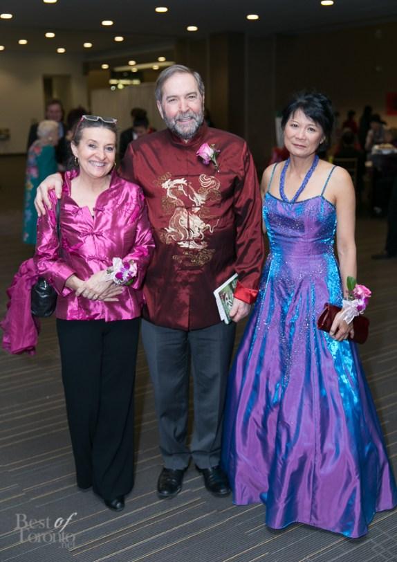 Catherine Mulcair, Thomas Mulcair, Olivia Chow