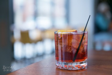 Negroni Frizzante at Pastizza | Photo: Nick Lee