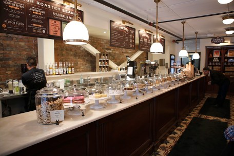 Interior of Balzac's Coffee | Photo courtesy of Balzac's Coffee