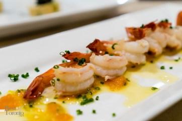 Shrimp hors d'oeuvre