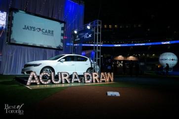 A 2016 Acura ILX as the grand raffle prize