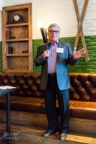 Dan Tullio, Master Ambassador for Canadian Club