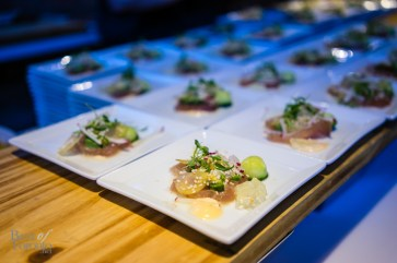 Citrus cured albacore tuna
