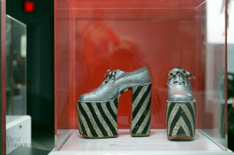 Elton John's platform shoe