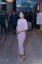Joanne Jin wearing Bazzul