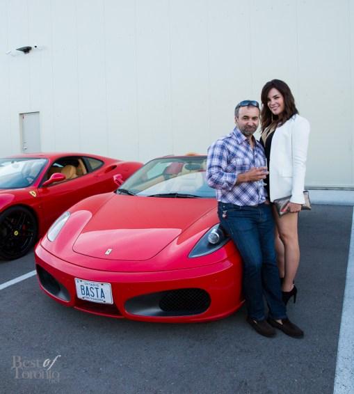 Robert Pacione and Jennifer Jobling