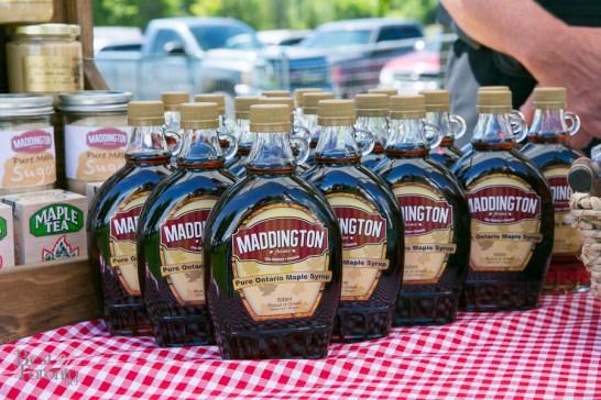 Maple syrup from Maddington from the OK Friday's farmer's market