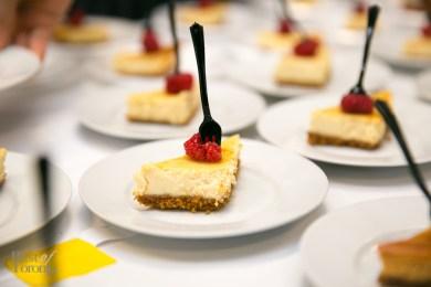 Pressed Greek Yogurt cheesecake by Reza Parsia, Estiatorio VOLOS