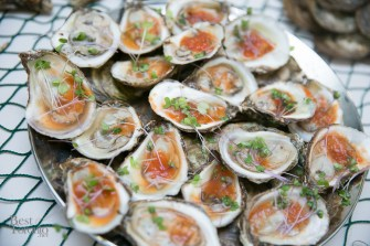 Bloody Mary oysters by Chef Michael Smith