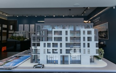 Model of the Southwood Condos Ravine collection