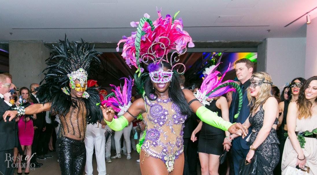 Samba dancers from Escola de Samba de Toronto