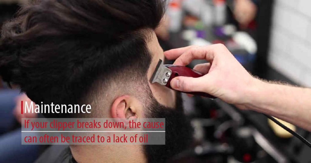 Oil It - clippers for fades