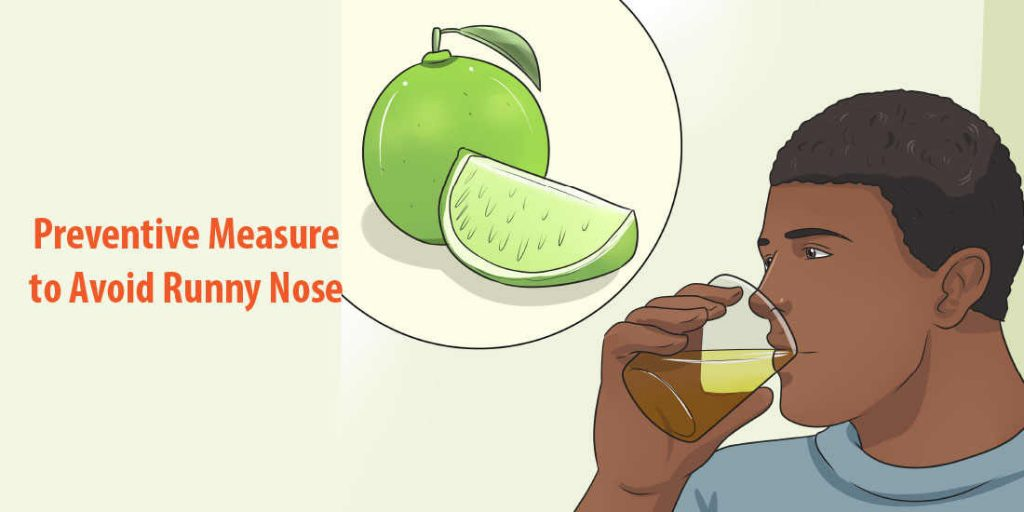 Preventive Measure To Avoid a runny nose