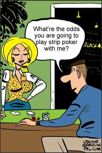 Odds To Play Strip Poker