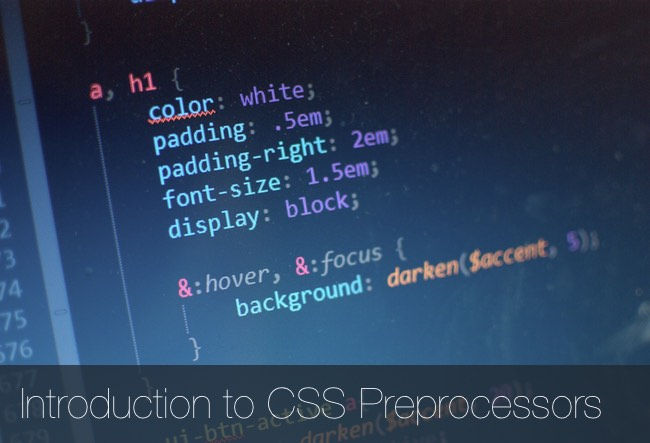Intro-CSS-Preprocessors