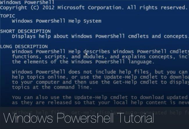 windows-powershell-tutorial
