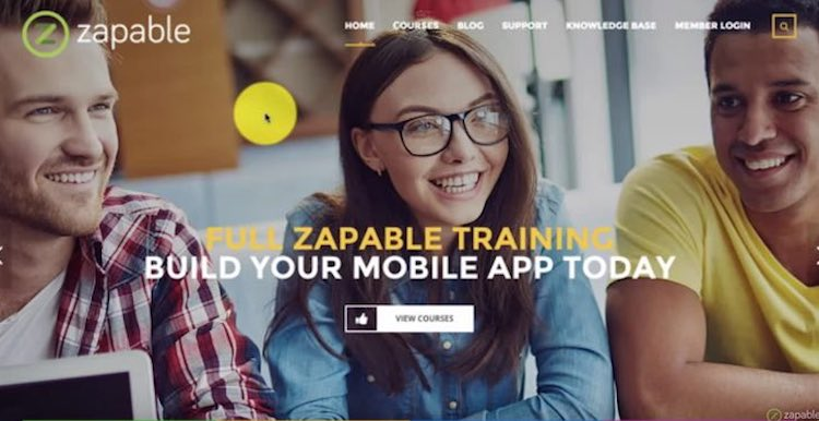 Zapable Software and Training