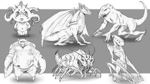 How to Improve YourCreature Design Drawings - Step by Step