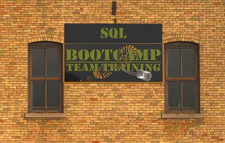 SQL bootcamp