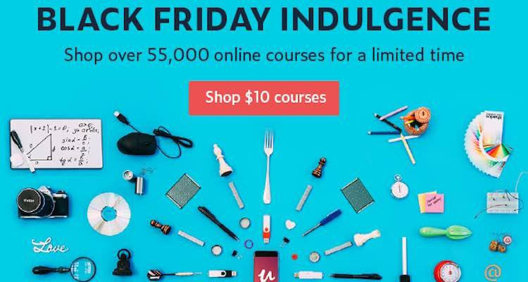 Indulge in Learning: Enrol in a Course for Only $10 this Black Friday – Cyber Monday