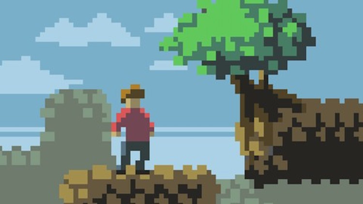 udemy learn to create pixel art