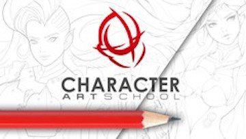 character art school