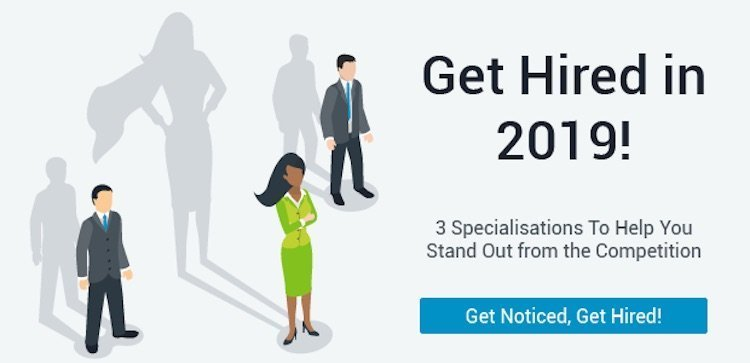 Get Hired in 2019 [Free Courses]