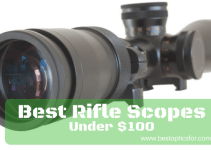 best rifle scope under 100