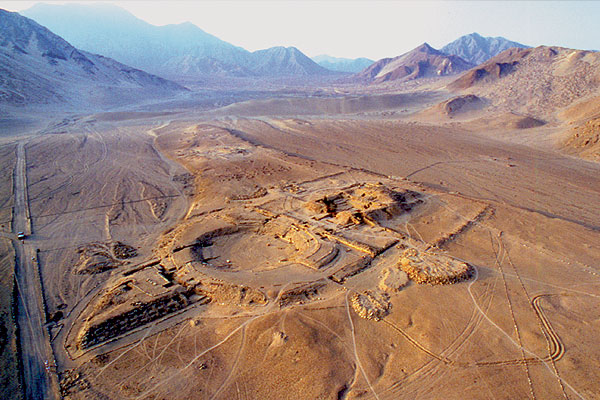 Caral-Supe City - Aerial view