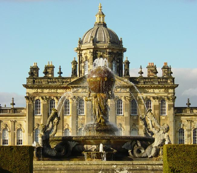 Castle Howard, England - Beautiful fountain