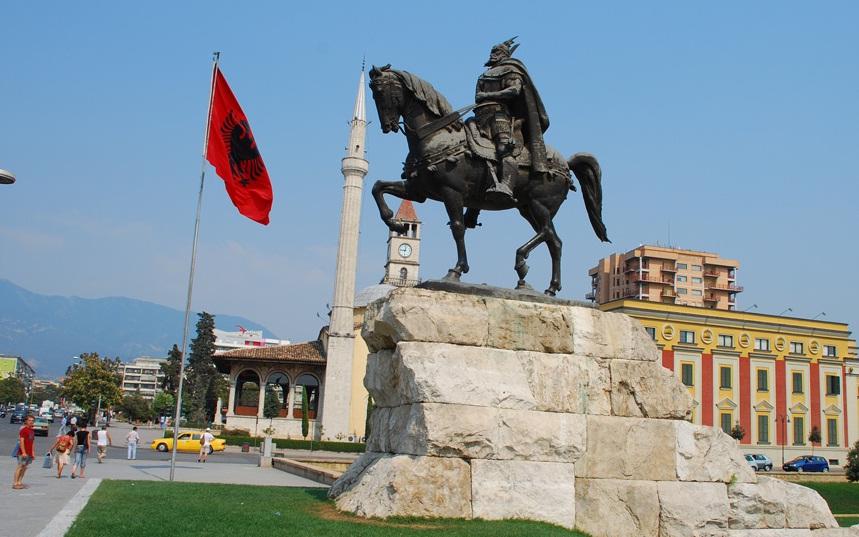 Albania - Tirana view