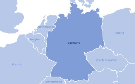 Images Germany Map of Germany 7795 Germany   Map of Germany