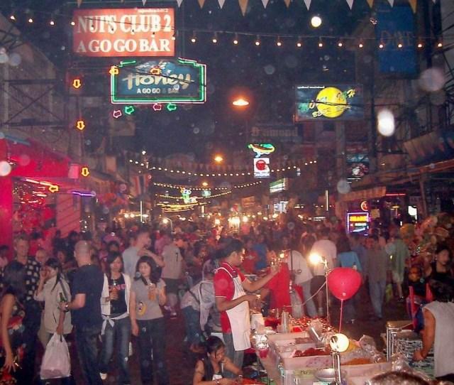 Pattaya The Center Of Sex Tourism In Thailand Walking Street