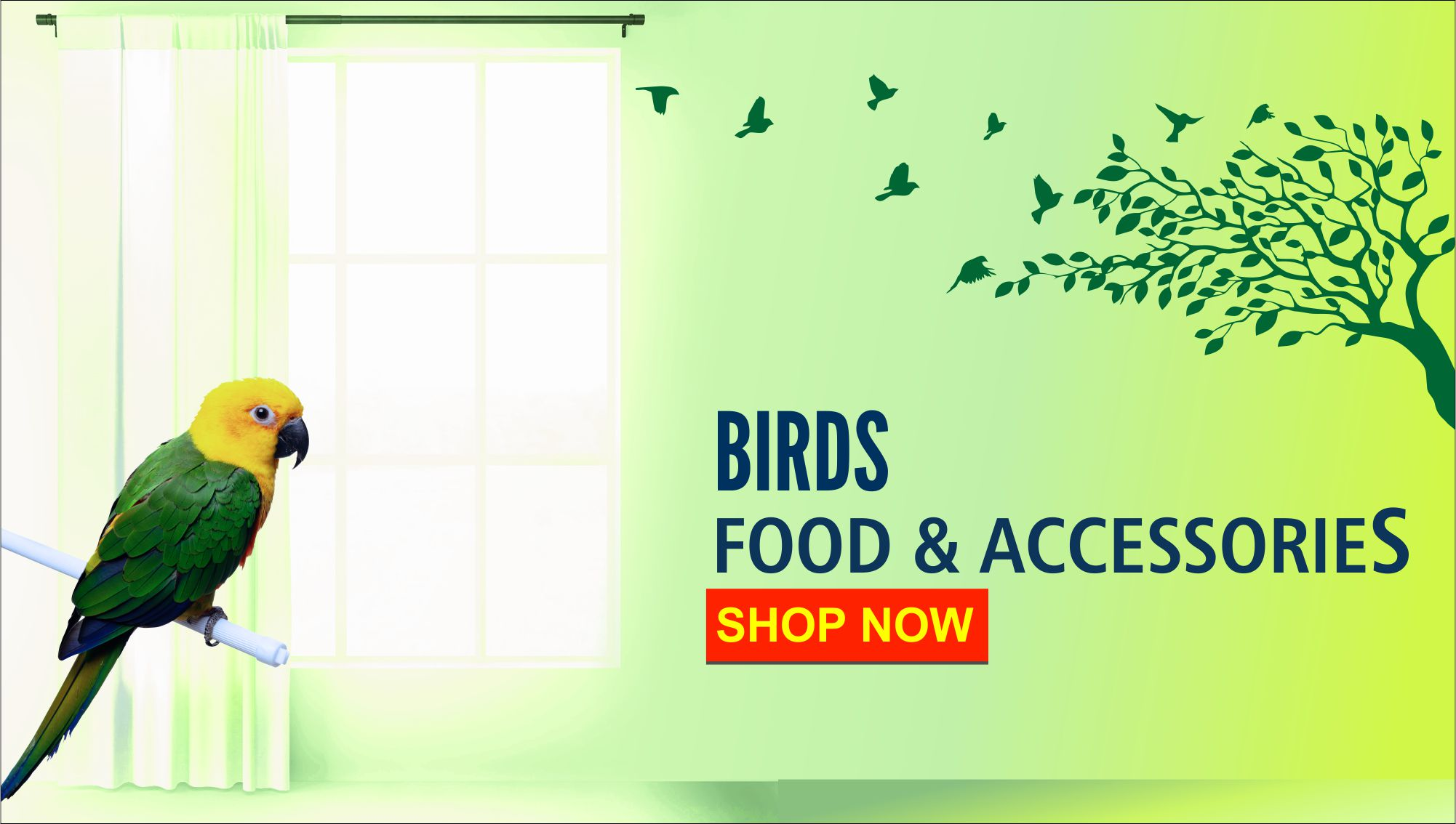 Bird Supplies banner