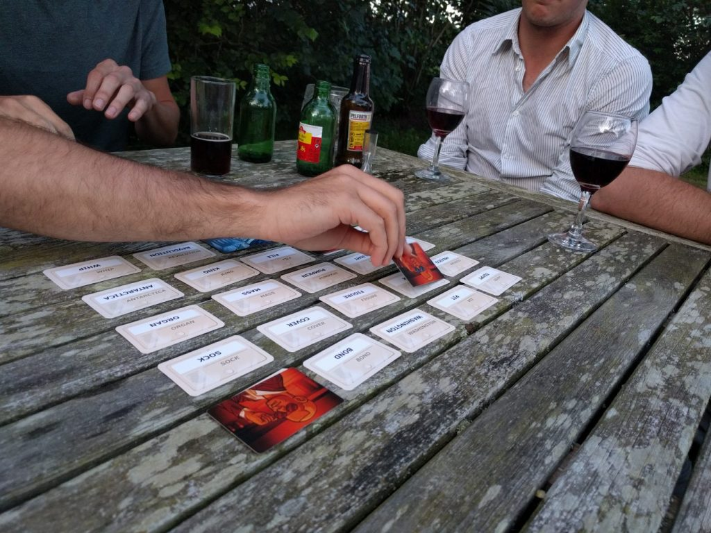 Codenames Playing Red