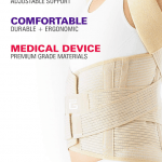 Back Posture Support With Neo G Medical Grade Dorsolumbar Brace